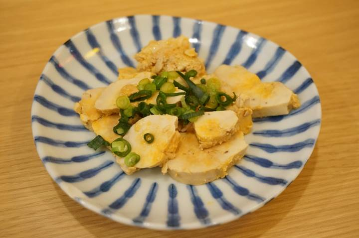 Banpaiya 晩杯屋 Foie gras of the sea with citrus flavored soy sauce あん肝ポン酢