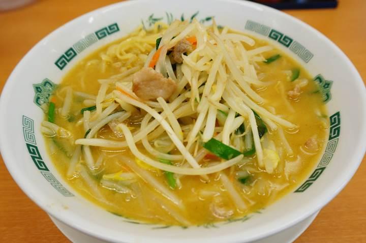 HIDAKAYA Miso Ramen 日高屋 味噌ラーメン