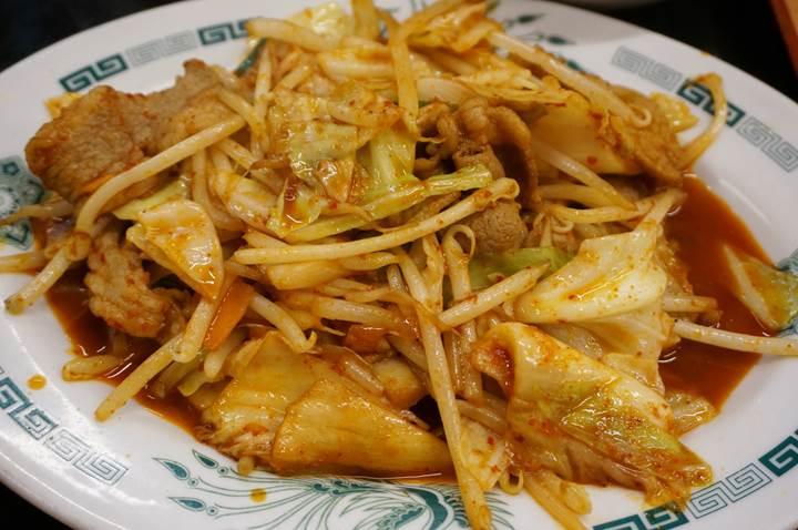 HIDAKAYA Pork with Kimchi Spice Sauce 日高屋 バクダン炒め