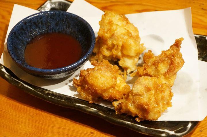 Torikizoku 鳥貴族 Chicken Tempura Served with Plum Sauce とり天 梅肉ソース添え
