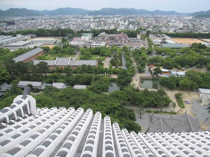 World Cultural Heritage and National Treasure Himeji Castle 世界文化遺産 国宝 姫路城