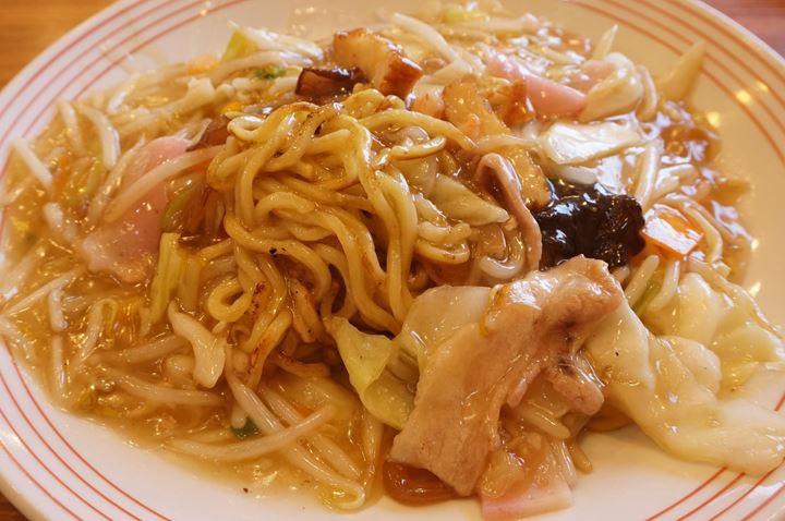 太めん皿うどん Champon Noodles Saraudon - リンガーハット RingerHut