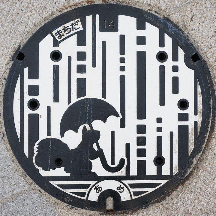 Manhole (Minami-machida Grandberry Park) マンホール 南町田グランベリーパーク