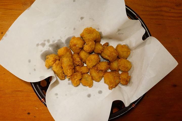 Torikizoku 鳥貴族 Deep Fried Chicken Knee Cartilage with Salt ひざなんこつ